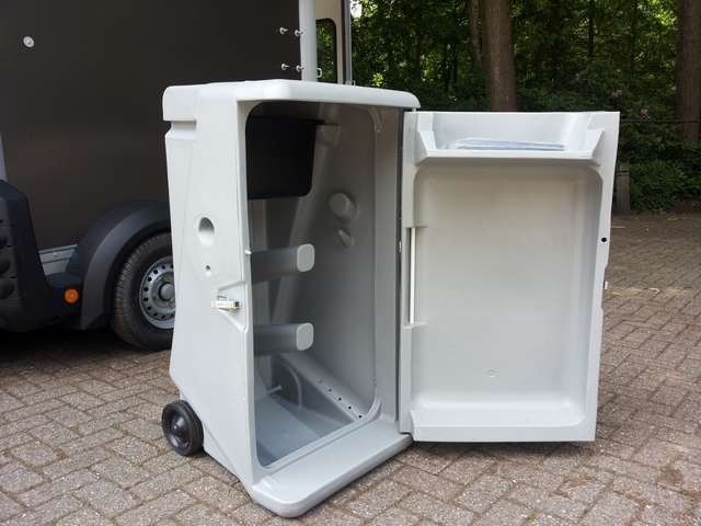 Ifor Williams, type 506, kleur grafietadelkamer