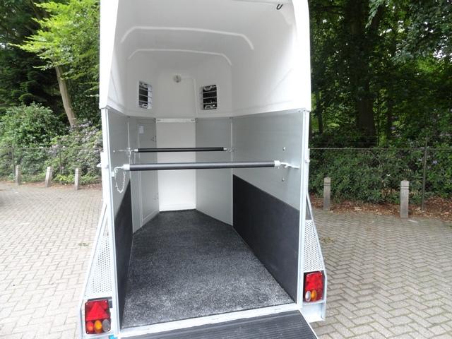 Weijer Cavalier 1.5 paards aluminium paardentrailer